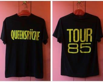 Vintage 1985 Queensrÿche Tour T Shirt