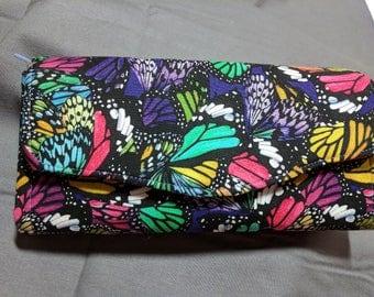 Necessary Clutch Wallet NCW Butterfly wings