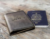 Passport Holder, Passport Book Cover, PERSONALIZED Leather Passport Holder, travel wallet, passport case, passport holder, document #070