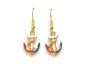 Anchor Earrings Nautical Earrings