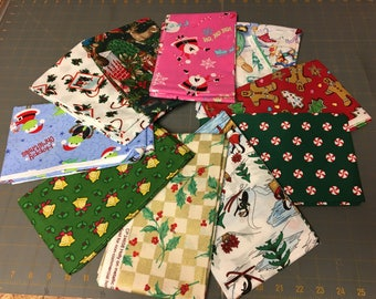 Christmas one yard bundle (10 yards)