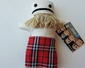 Leif- Kilted Bearded Man Doll-Handsome and Loyal