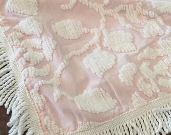 Vintage Chenille Pillow Sham