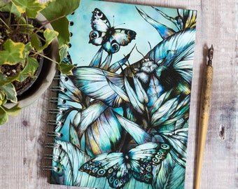 Tropical Beetle A5 Hardback Spiral Sketchbook