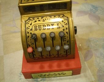 Vintage 1976 Buddy L Cash Register In Working Order Made in Kong Kong