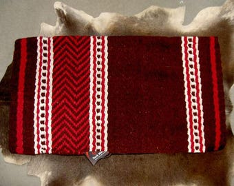 34x36 horse wool western show trail saddle blanket rodeo pad turquoise