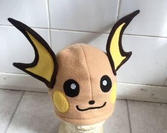 Handmade Pokemon hat- Raichu