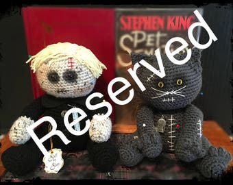 Handmade Pet Sematary Voodoo Dolls Stephen King