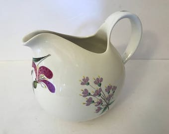 Rare Mid century pitcher by Eva Zeisel for Hallcraft China, made in U.S.A