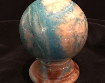 Vintage Global Shaped Paperweight Ducceschi, Italy