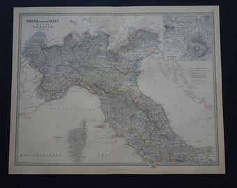 Modena map Etsy