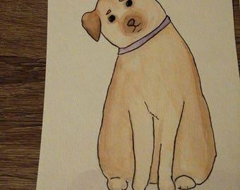 Leandra's pet paintings