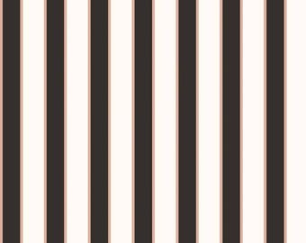 Yes Please - Stripes Rose Gold by My Mind's Eye for Riley Blake, 1/2 yard, SC6554-Rose Gold