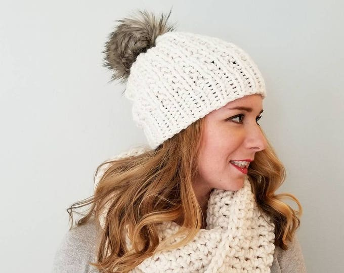Featured listing image: Moxie Hat and Sutherland Infinity Combo - Cream