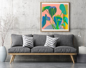 Houseplant / Signed Giclee Print