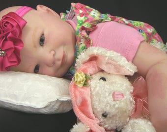Eliza Reborn XMAS ORDER Custom Doll by Donna Rubert Little Darlins Nursery Rita Meese Artist