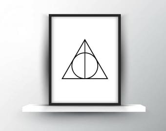 Harry Potter | Deathly Hallows Symbol | Digital Download