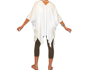 Rayon Soft Poncho/Jacket | 130 Color Options | Custom Dyed