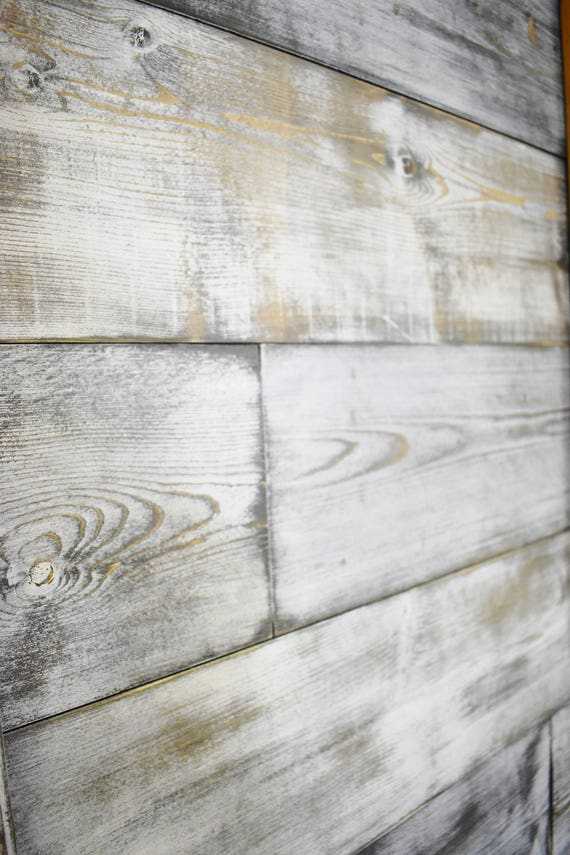 Interior Shiplap Wood Wall Art Accent Wall Coastal Decor