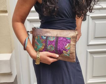 Ethnic handbags Clutch, Indian embroidery series