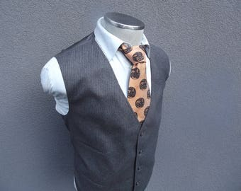 4XL Vintage Wool Pinstripe Gray Vest Size 54 XXXXL / Wool Waistcoat / Wedding / Mens Suit Vest / Gray Vest / Vtg Pinstripe waistcoat 4XL