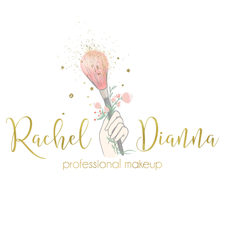 Make up logo beauty blog logo cosmetic makeup brush logo logo for Create blog logo