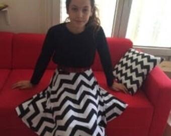 Twin Peaks Black Lodge skirt - Small
