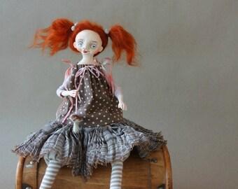 OOAK ART Doll ,,Jackie,,