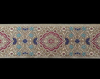 "427 Jacquard trim ""Jaipur"" 2-3/8"" (60mm)"
