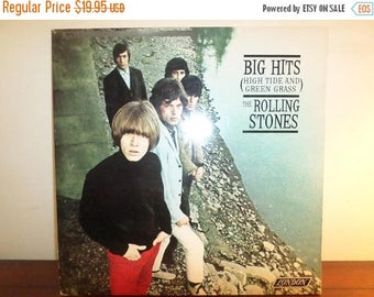 Save 30% Today Vintage 1986 Vinyl LP Record The Rolling Stones Big Hits High Tide and Green Grass Very Good Condition 11304