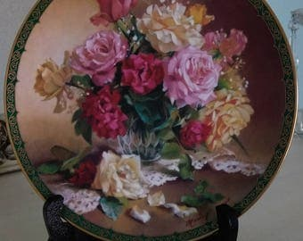 Victorian Beauty by Vieonne Morley, W.S. George Vintage Collector Plate (Bradford Exchange)