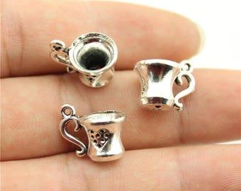 Tibetan Silver Cup 2 X