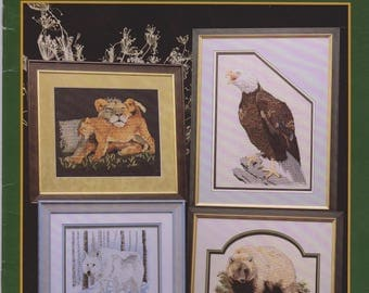 Cross Stitch Pattern book Endangered Species II Cross My Heart CSB 74 Counted Cross Stitch