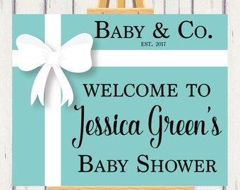 Baby Shower, Baby And Company, Welcome Sign, Entrance Sign