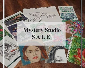 Mystery Painting/Drawing | SMALL