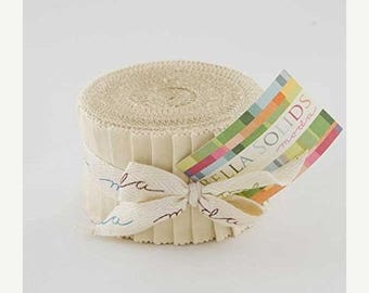 Anniversary Sale Ivory JR Jelly Roll 20 2.5-inch Strips Moda Fabrics~Fast Shipping,JR345