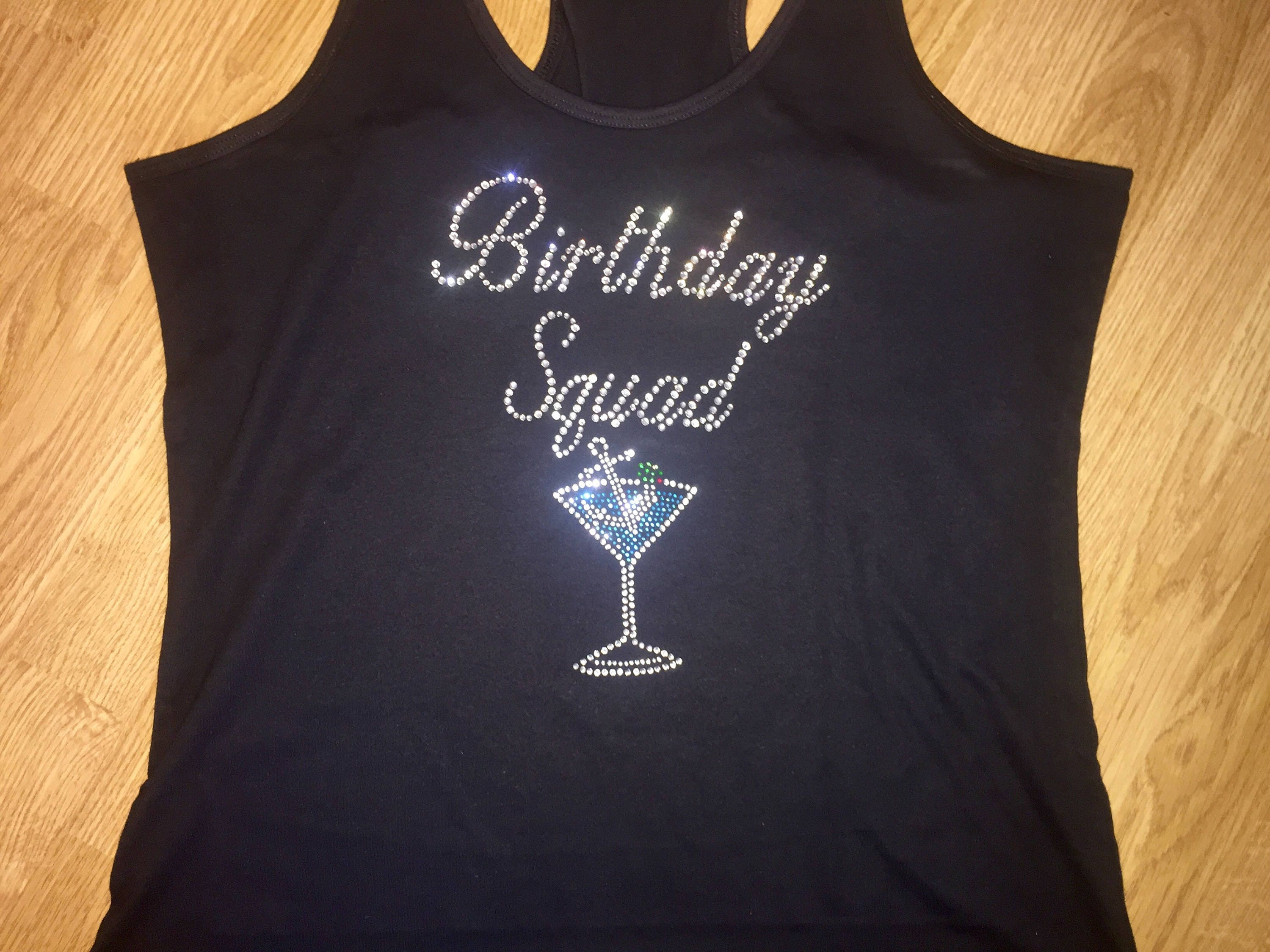 Birthday Squad Shirts Pictures To Pin On Pinterest