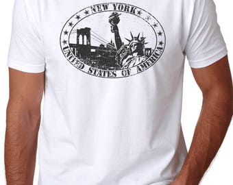 New York City Statue of Liberty T Shirt - NYC
