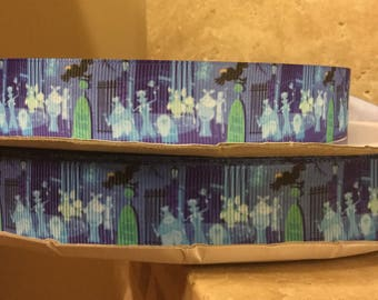 5 YDS Haunted Mansion Hitchhiking Ghosts Ribbon