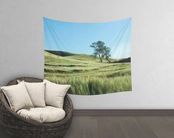 Washington Wall Tapestry | Wall Tapestry Tree | Photo Wall Tapestry | Mindfulness Tapestry | Spring Wall Tapestry | Decorative Wall Tapestry