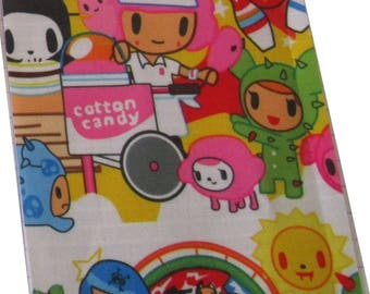 Deco fabric fabric coupon cactus colorful kawaii 9.8 cm x 9.8 cm vinyl pvc waterproof