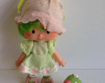 LIME CHIFFON w/ Parfait Parrot Vintage Strawberry Shortcake Doll