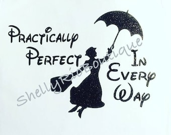 Practically Perfect In Every Way Top, Mary Poppins Shirt