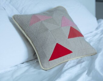 Recycled cashmere pillow