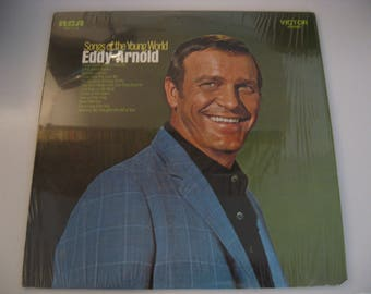 First Pressing! - Eddy Arnold - Songs Of The Young World - Circa 1969