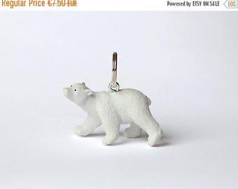 "SALE Key chain ""Polar bear cub"""