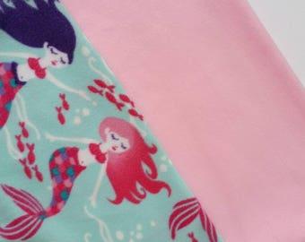 Mermaid Tail / Mermaid Blanket / pink and purple mermaid girls