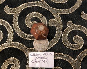 White Moonstone Orgonite Charm #4