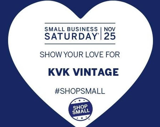 Shop with Us on Small Business Saturday November 25, 2017!!!! Thank you!