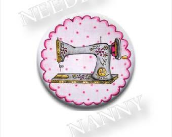 Vintage Pink Needle Nanny by Amanda McKinley